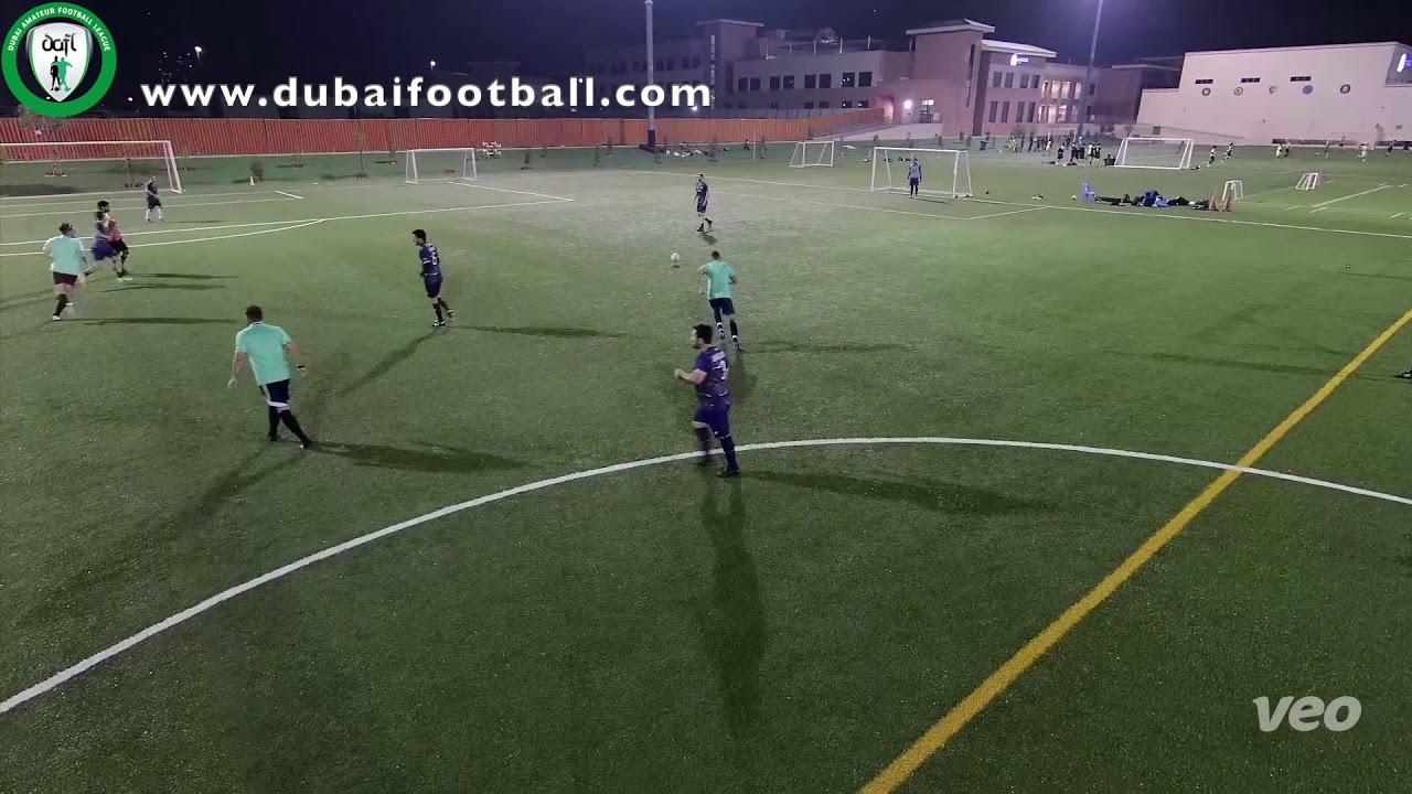 Olivier G –Flying Camels - DAFL New Year 7 a side. Segunda Week 5 www.dubaifootball.com