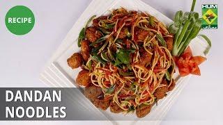 Dandan Noodles | Evening With Shireen |  Shireen Anwar | Fast food