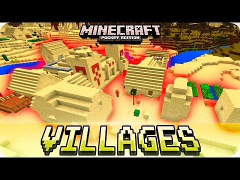 Minecraft PE Seeds - Great VILLAGE Seeds with Blacksmith! 0.16.0 / 0.15.0 MCPE