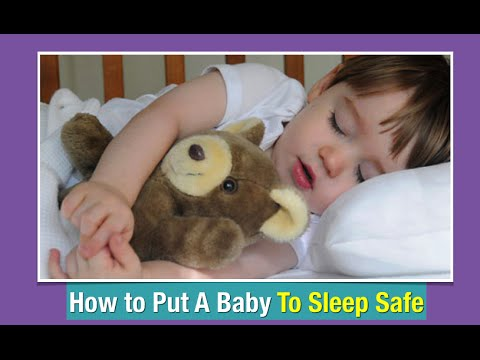 How To Put A Baby To Sleep Safe | Safe Sleep For Babies