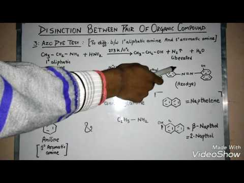 Distinction tests for a pair of organic compounds ( for CBSE BOARD EXAMINATION)|distinguishing tests