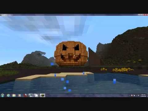 MineCraft Jack-o-Lantern!