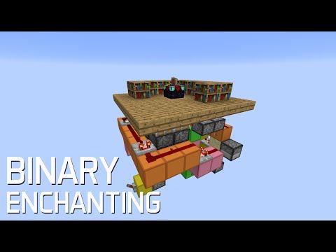 Redstone: Advanced Binary Enchanting Station [Tutorial]