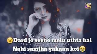 Sad   heart touching   love   pyar