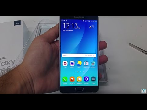 Samsung Galaxy Note 5 Unboxing and Quick Hands on Review