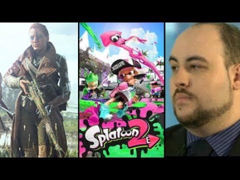 Nintendo Switch Splatoon 2 Hackers, Dev Mocks TotalBuscuit Passing, Females Here To Stay in BFV