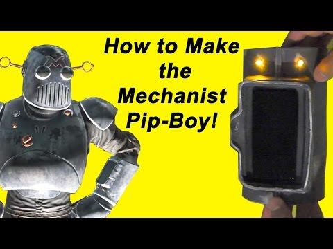 How to Make the Mechanist Pip Boy (DIY)