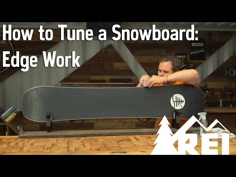 How to Tune a Snowboard #1: Edge Work