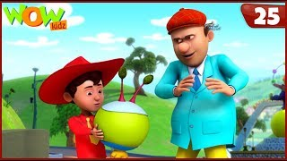New Cartoon Show | Chacha Bhatija | Wow Kidz | Hindi Cartoons For Kids | Alien Mera Dost