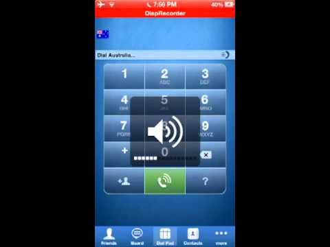 Free international Calling from iPod, iPad and iPhone NO JAILBREAK