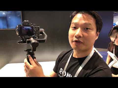 DJI Ronin-S Hands On Demo (CES 2018)