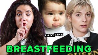 We Tried Breastfeeding In Public • Ladylike