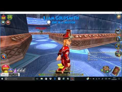 Wizard101 winterdeep warren how to get past it