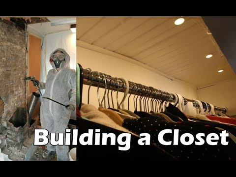 Building a Closet in Place of a Chimney