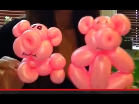How to make a pig balloon
