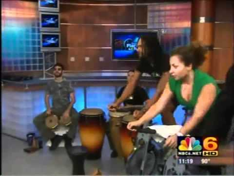 Mr.BongoMan - Equinox Gym - NBC 6