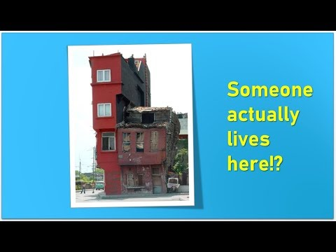Weird and Crazy Homes - would you actually live in one of these crazy homes?