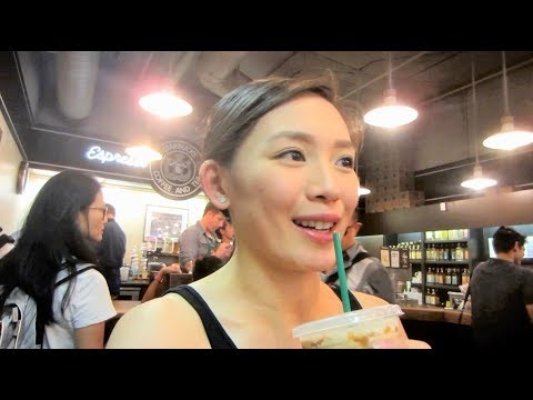 WORLD'S FIRST STARBUCKS! - VlogsWithLinda