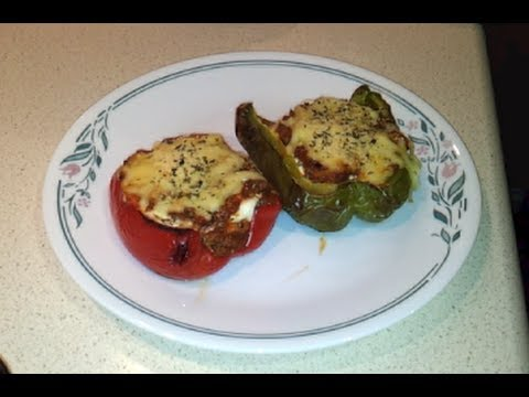 How To Make Lasagna Stuffed Peppers (low carb / primal)