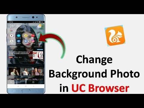 How to Change UC Browser Background in Android