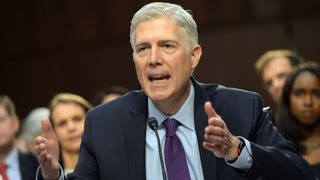 Gorsuch grilled on Roe v. Wade
