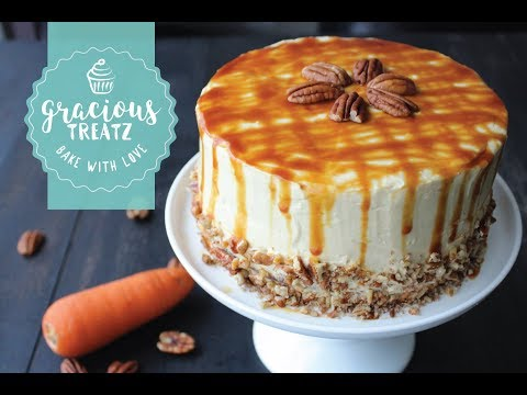 Caramel Carrot Cake Recipe