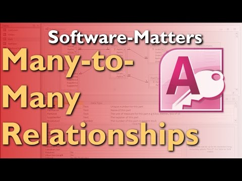 How to Create Many-to-Many Relationships in Microsoft Access - Full Tutorial with Free Download