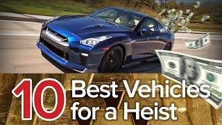 10 Best Vehicles for a Heist: The Short List