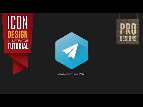 How To Make A Modern Icon Design | Adobe Illustrator | Satori Graphics