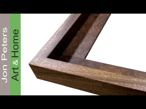 How to Get  Perfect Miter Joints + Make a Frame