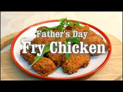 Make This Fry Chicken For Father's Day | Happy Father's Day Chef Ricardo