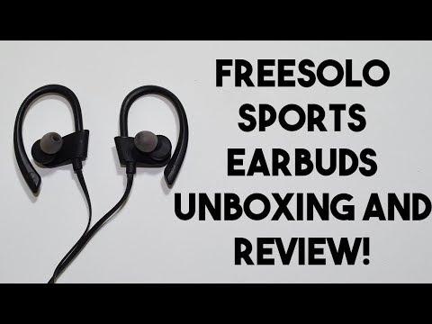 Best jogging earbuds??? Freesolo/Chereeki Earbuds Unboxing and Review!