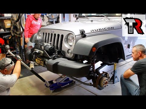 Rock Krawler Overland Lift Kit Install - Garage Party
