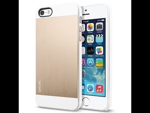 Spigen SGP Saturn Case for iPhone 5 and 5s in Gold