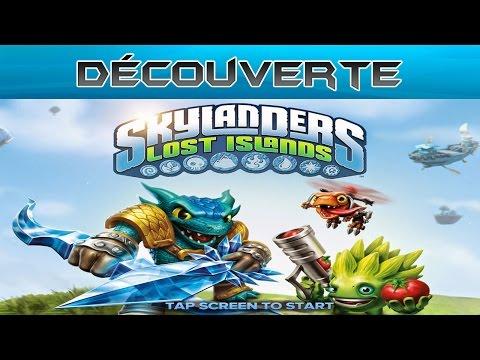 Découverte - Skylanders Lost Islands
