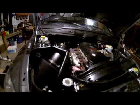 06 Cummins AFE stage 2 intake install