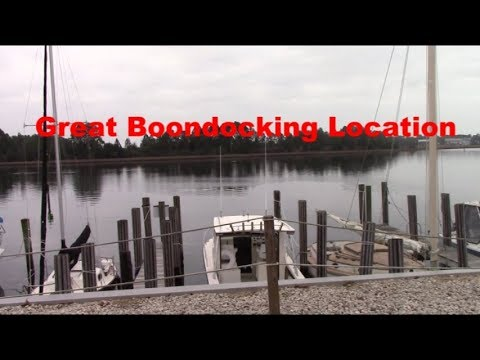 BOONDOCKING  Carrabelle FL in our Class B RV