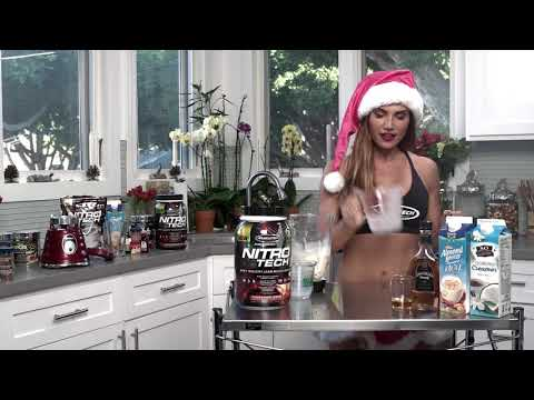 12 Days of #Fitmas - Lauren Abraham's Secret Eggnog Shake