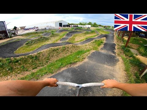 FIRST LOOK AT UK'S BEST PUMP TRACK! *BRAND NEW*