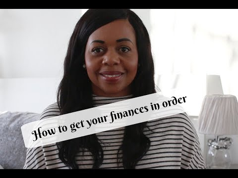How to get your finances in order for 2018