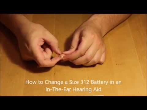 How To Change a Hearing Aid Battery in an In The Ear Hearing Aid