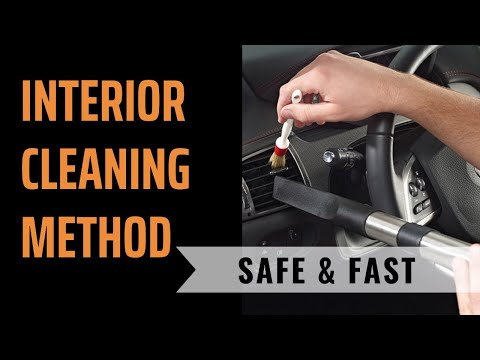How To Clean Leather, Plastic, & Headliner   Safe & Effective