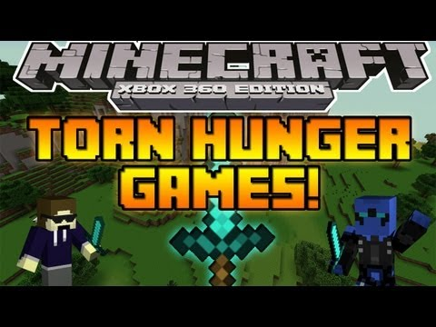 How do you make a hunger games map on minecraft xbox 360 -