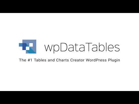 How to display WordPress database queries in a table with wpDataTables