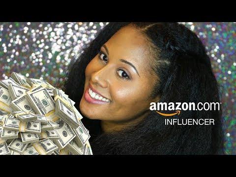 EARN MONEY WITH THE AMAZON INFLUENCER PROGRAM