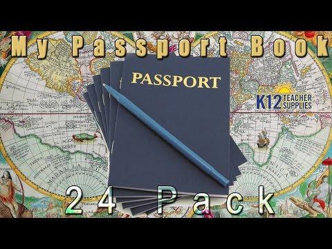 Best Blank Passport - Passport Template - Kids Play Passport