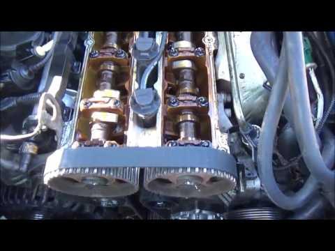 01 Ford Focus Timing belt repair Part 4