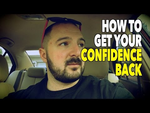 HOW TO GET YOUR CONFIDENCE BACK After Depression, Anxiety, &/or Depersonalization