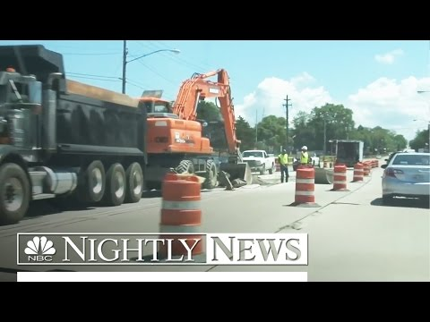 Poor U.S. Road Conditions Put a Strain on Motorists' Wallets   NBC Nightly News