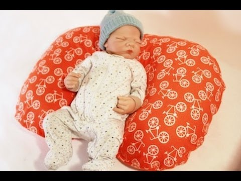 Sew A Poppy Pillow Slipcover (FREE PATTERN, fits Boppy!)